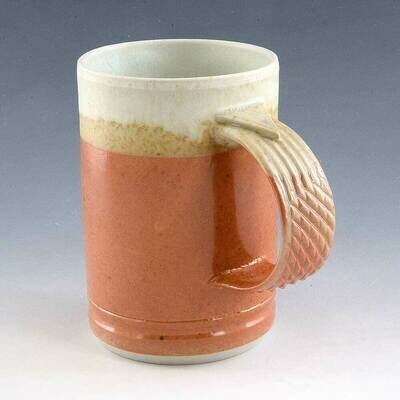 Mug - Orange & White - Great Colors Porcelain