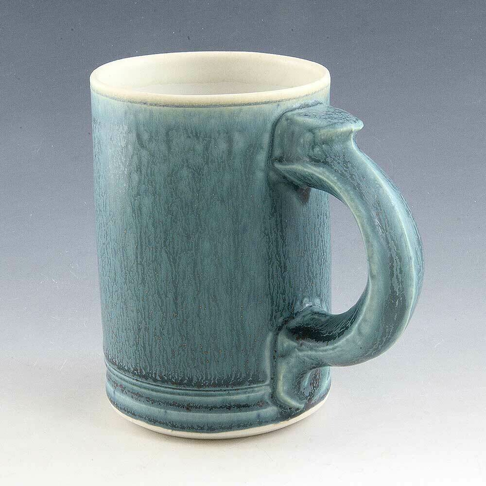 Mug - Turquoise - Great Cascading Colors Porcelain