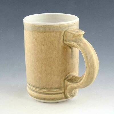 Mug - Great Cascading Gold Colors  - Understated elegance Porcelain