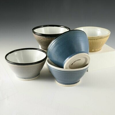 Bowl - Single Bowls for Soup or Cereal. Choose from five colors!