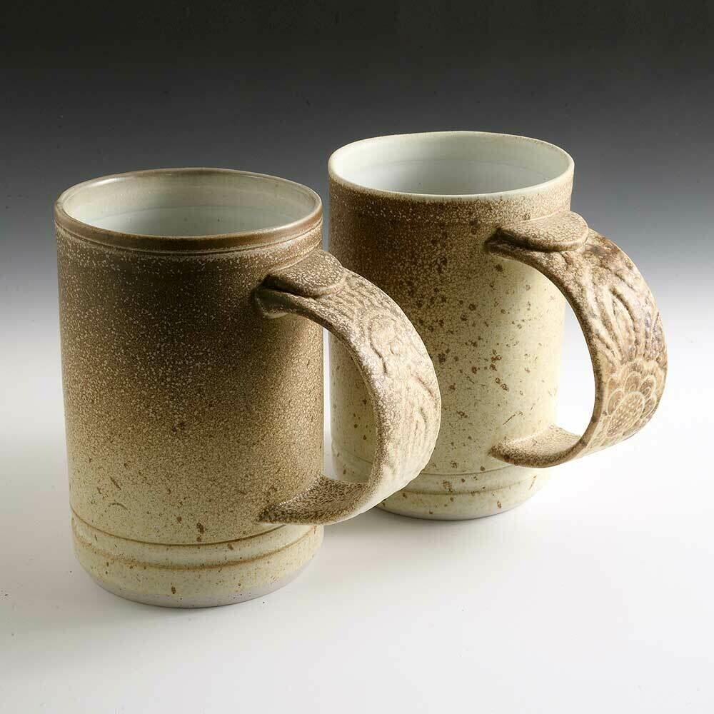 Mug - Speckles with wonderful brown rustic patterns