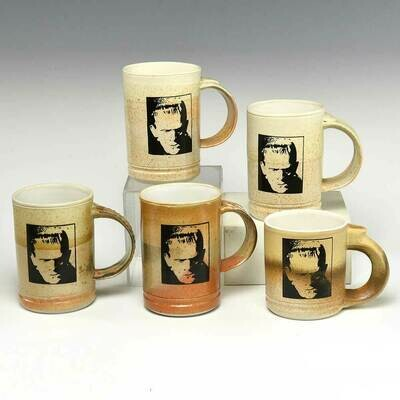 Frankenstein Mugs with beautiful variegated cream colors!