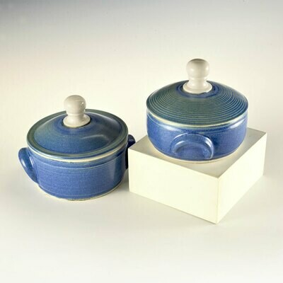 Lidded Casserole Dishes for the single person or small left-overs!