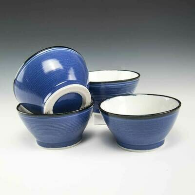 Bowls - Kitchen bowl set of 4 - Fourth one is FREE! Perfect size for a full can of soup, cereal or popcorn!