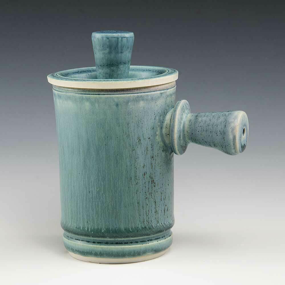 Mug - Demi-size a little smaller than a regular mug size. Porcelain. Coffee or Juice!