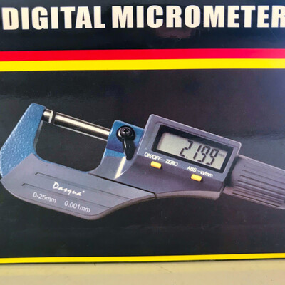 Digital Outside Micrometer 0.001mm Accuracy