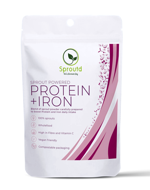 Sprout powered PROTEIN + IRON