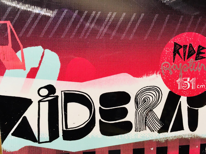 151 cm Ride nowboard (gebraucht)