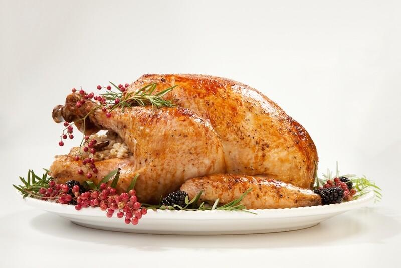 EARLY BIRD PRICE! Fresh Organic Norfolk Black Turkey 8.00 - 8.99 kg