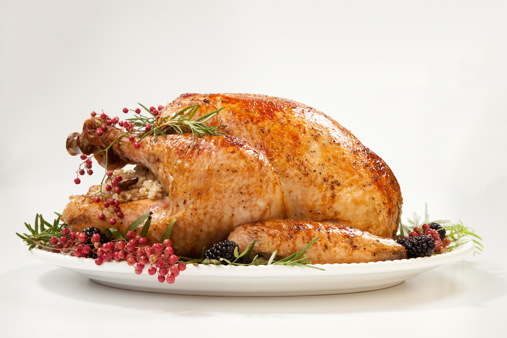 EARLY BIRD PRICE! Fresh Organic Norfolk Black Turkey  7.0 – 7.99 kg
