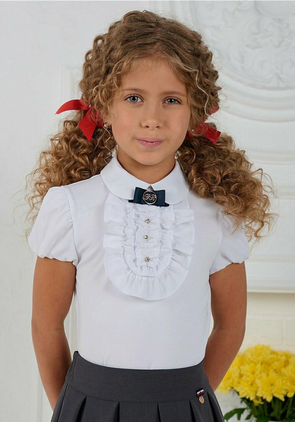 Блузка д/д белый 1216-05