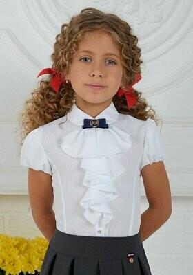Блузка д/д белый 8097-01