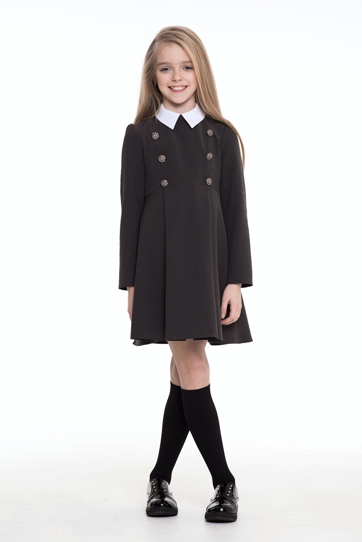 Платье д/д серый 0149