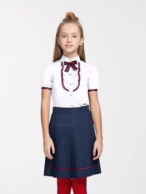 Блузка д/д белый