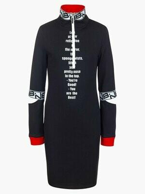 Платье д/д черный 193213912-21