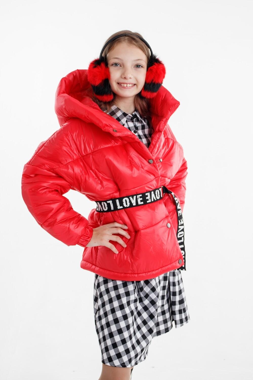 Куртка д/д красный 22-0243