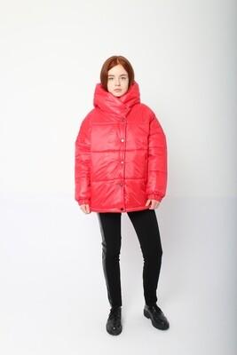 Пальто красный утепл. Balloon