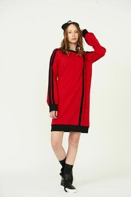 Платье красный 2010904