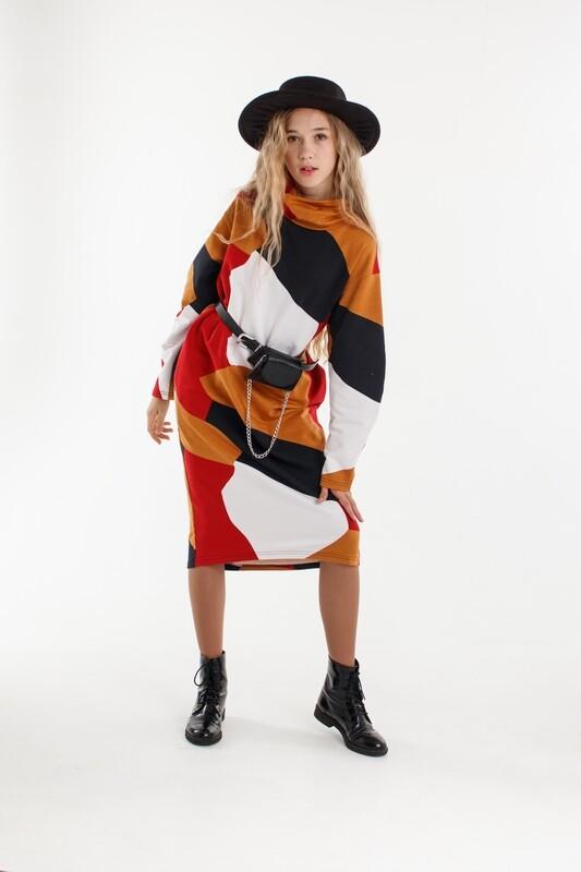 Платье мультиколор 2010910