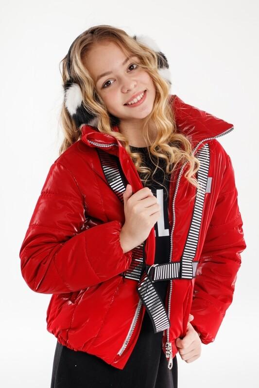 Куртка д/д красный 52-5005-3