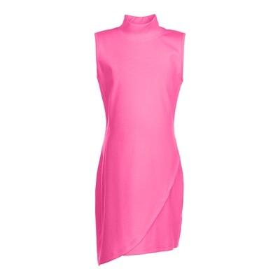 Платье ПЛ-14157-9 фуксия-неон