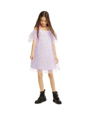 Платье нарядное св.сиреневый 200211