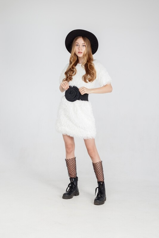 Платье молочный 20522