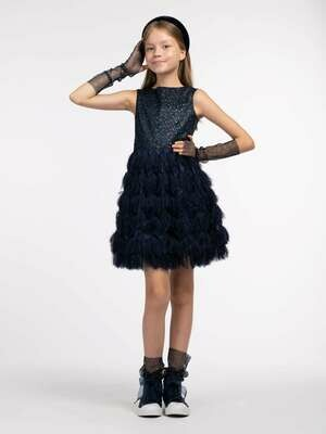 Платье д/д т.синий 20558