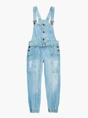 Полукомбинезон джинсоый деним 5128