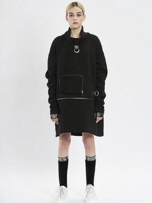 Свитшот-Платье д/д черный 2010901