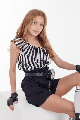 Блузка д\д черный 41024
