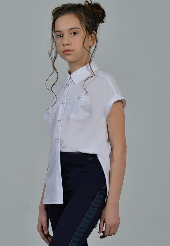 Блузка белый 24-21