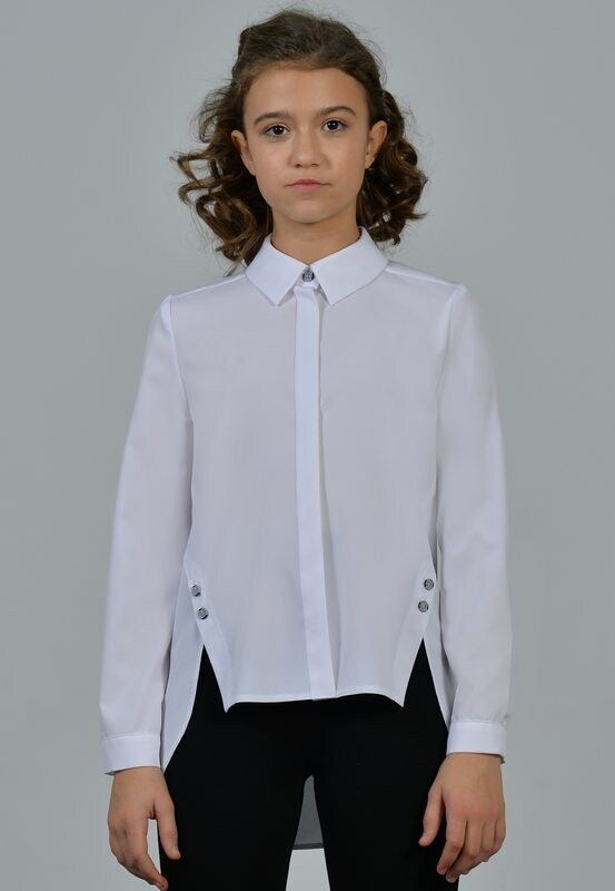 Блузка д/д белый 003-21