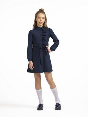 Платье синий 11803