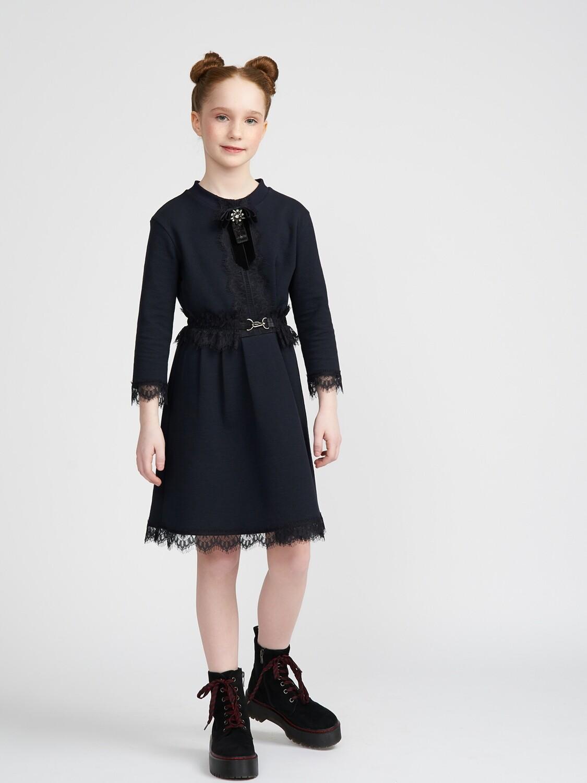 Платье с кружевом 2111909