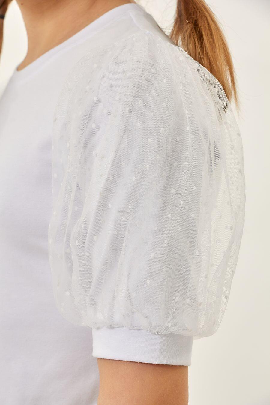 Блуза белый 685102