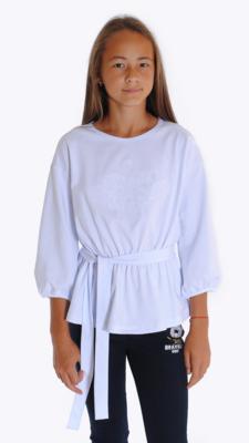 Блузка белый 21-1602