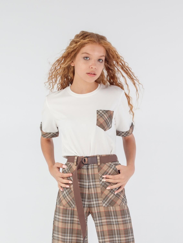 Блуза молочный 685093