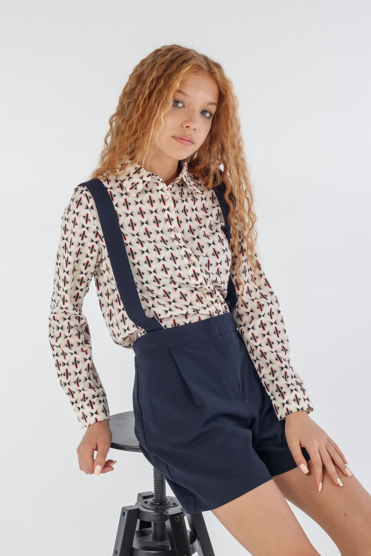 Блуза бежевый 185398