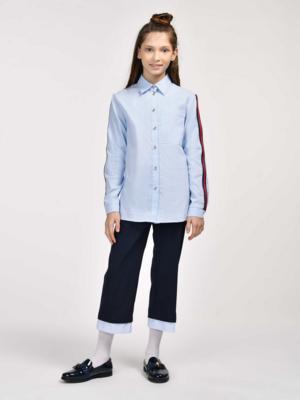 Блузка голубой 11508
