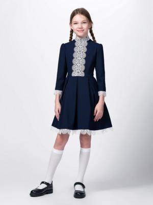 Платье синий 10703