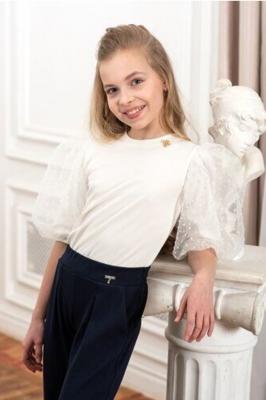 Блузка белый 4092-12