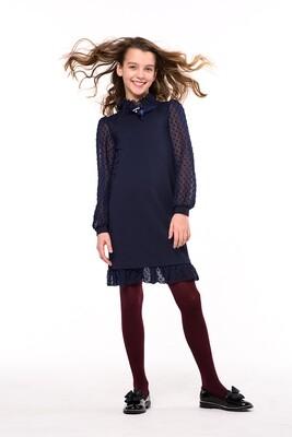 Платье цвет синий 5049-160