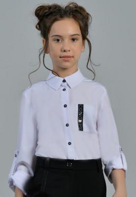 Блузка белый 13-21