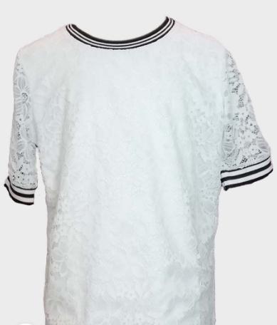 Блузка белый 685104
