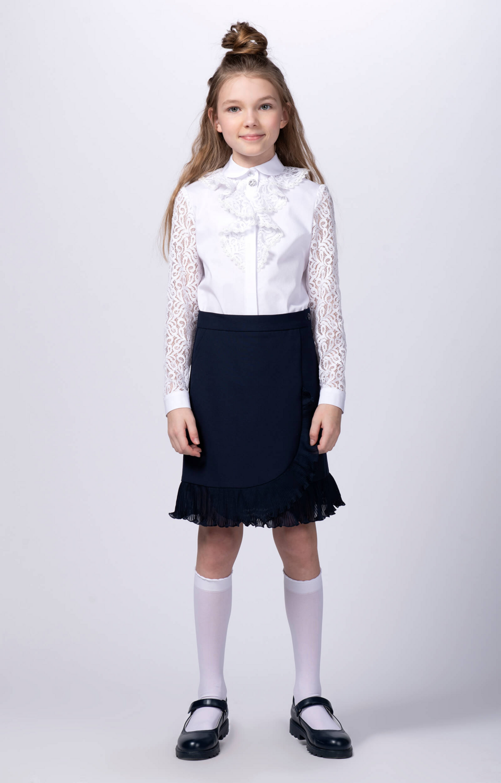 Блузка белый 10526