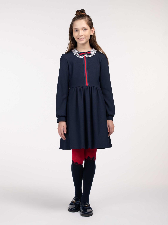 Платье синий 11612