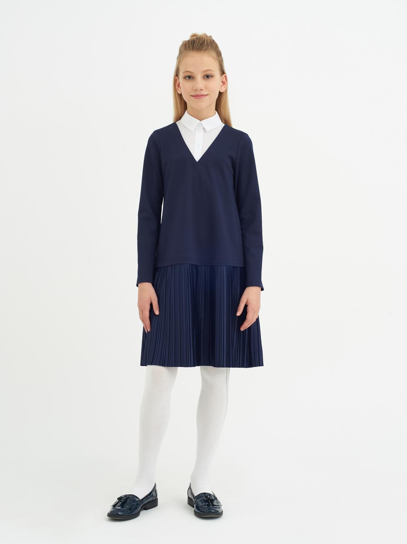 Платье синий 11611