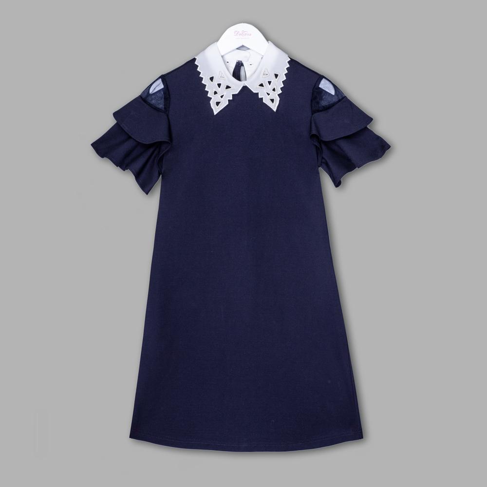 Платье д/д синий 62139-20Q