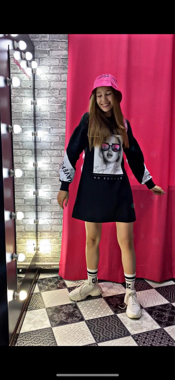 Платье черный О65394-Ч